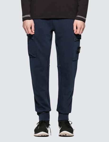스톤 아일랜드 Stone Island Regular Fit Sweatpants