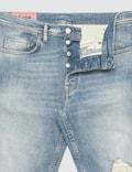 Acne Studios River Blue Destroyed Jeans