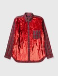 Comme des Garçons HOMME PLUS Comme Des Garçons Homme Plus Check Shirt With Sequins Picutre