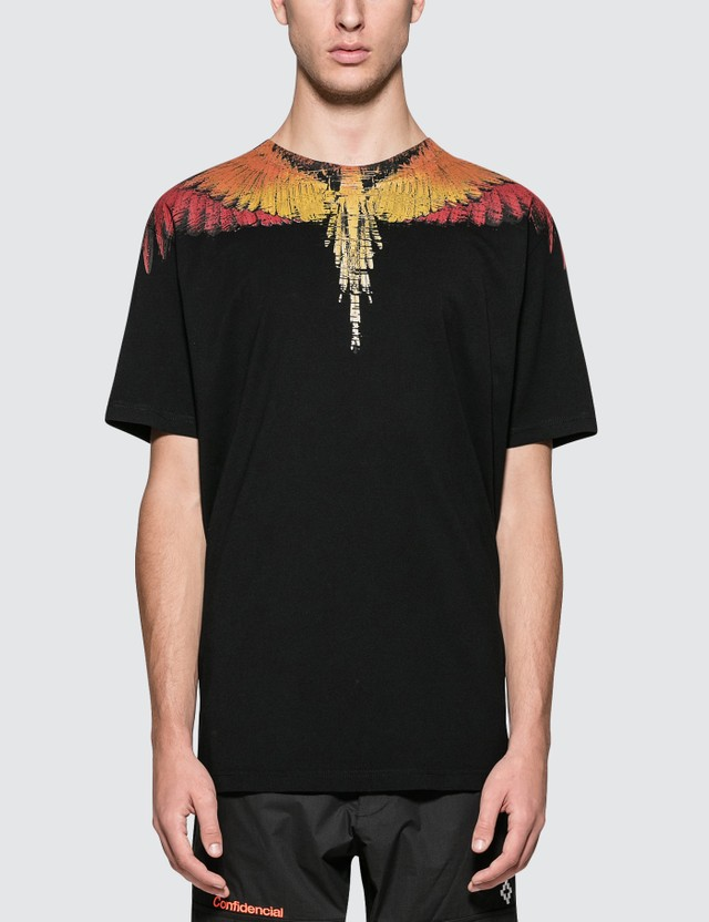 Marcelo Burlon Glitch Wings S/S T-Shirt
