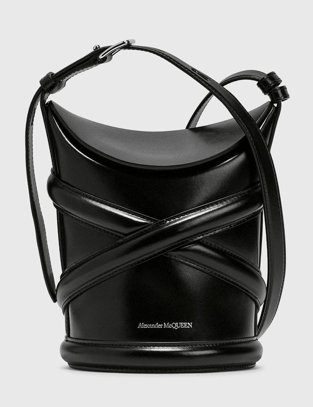 Alexander McQueen The Curve Small Bag Black Women