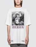Heron Preston Black and White Herons Short Sleeve T-Shirt Picture