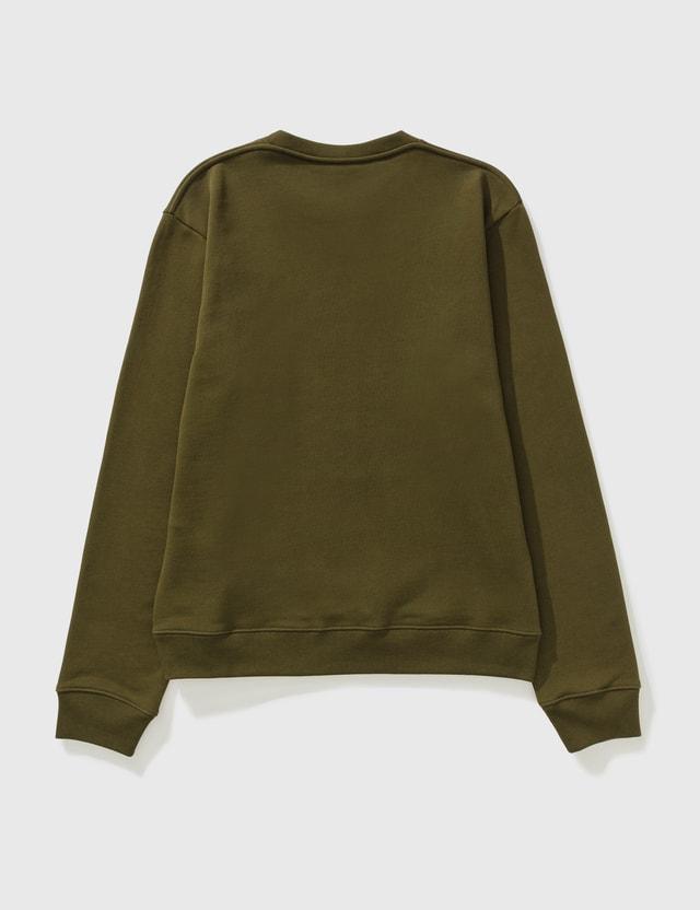 Loewe Anagram Sweatshirt Dark Khaki Green Men