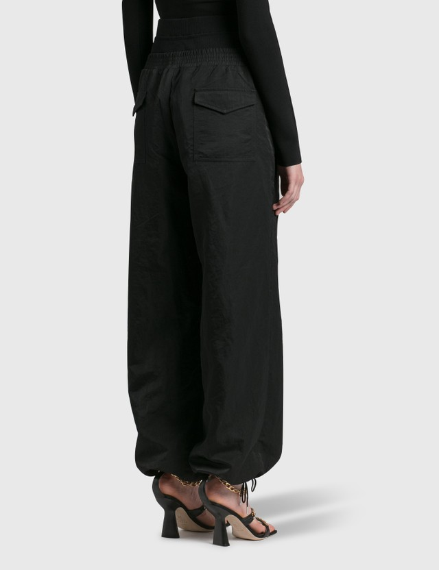 Dion Lee Nylon Trackpant Black Women