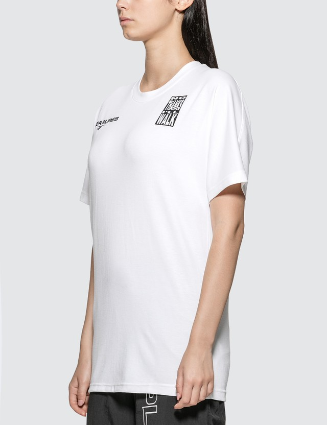 Reebok Pleasures X Reebok Vector T-shirt White Women