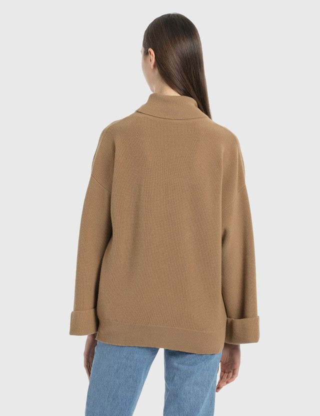 A.P.C. New Big Jumper Cab - Camel Women