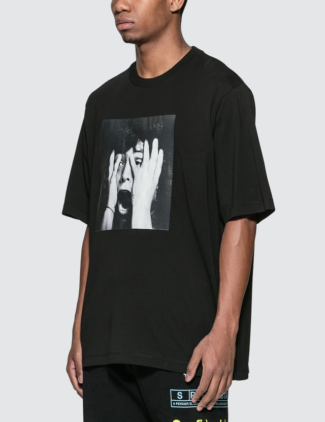 Marcelo Burlon Scared Face Over T-Shirt