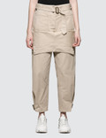 JW Anderson Fold Front Utility Trousers Picture