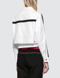 GCDS Coach Jacket White Women
