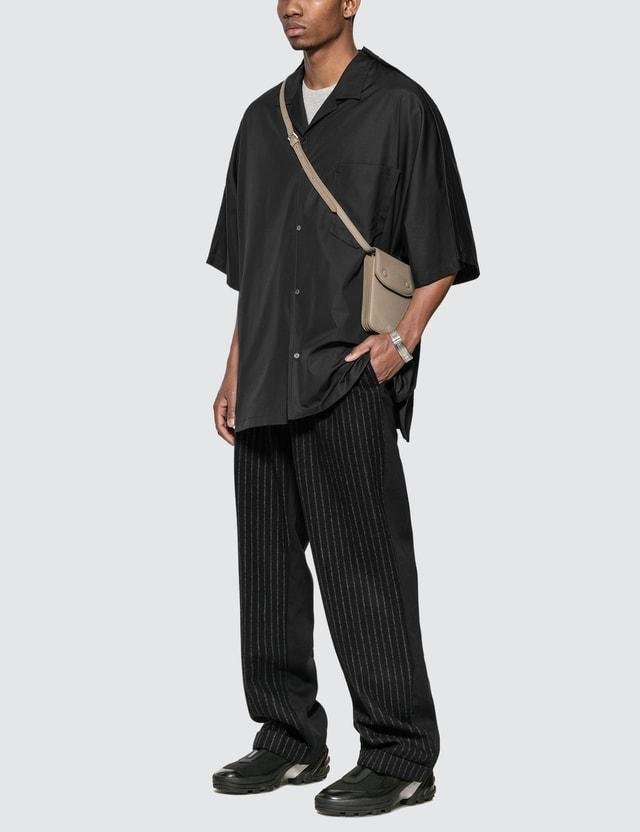Maison Margiela Grainy Leather Cross Body Bag