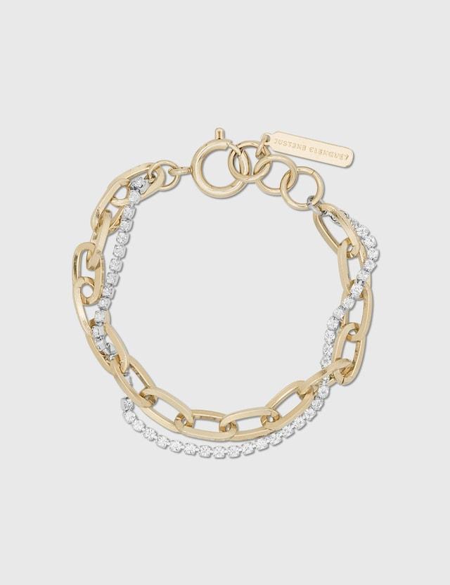 Justine Clenquet Kirsten Gold Bracelet