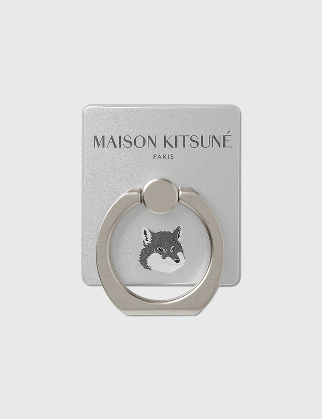 Maison Kitsune Iring Silver Men