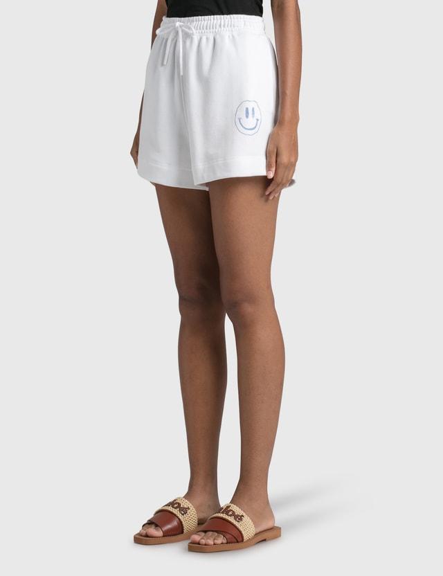Ganni Smiley Isoli Shorts