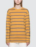 Pleasures Scream Striped Long Sleeve Shirt Picutre