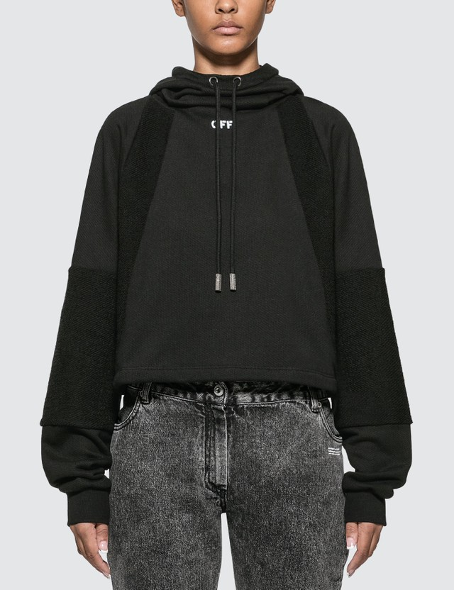 Off-White Intarsia College Hoodie