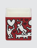 """Ligne Blanche Keith Haring """"White On Red"""" Pine Needles Perfumed Candle Picture"""