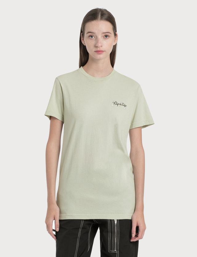 RIPNDIP Mosaic T-Shirt Sage Women