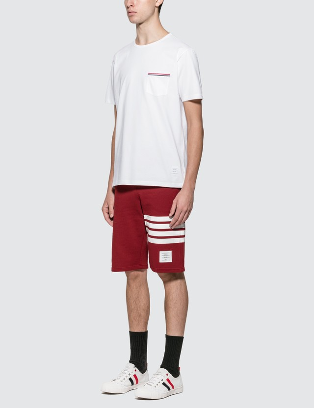Thom Browne RWB Pocket Trim T-shirt