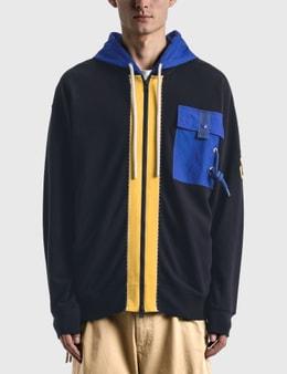 Moncler Genius 1 Moncler JW Anderson Hooded Zip Up Sweatshirt
