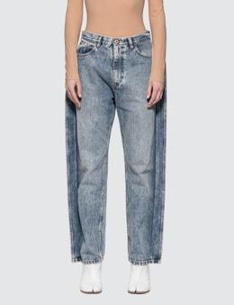 Maison Margiela Poplin Jeans