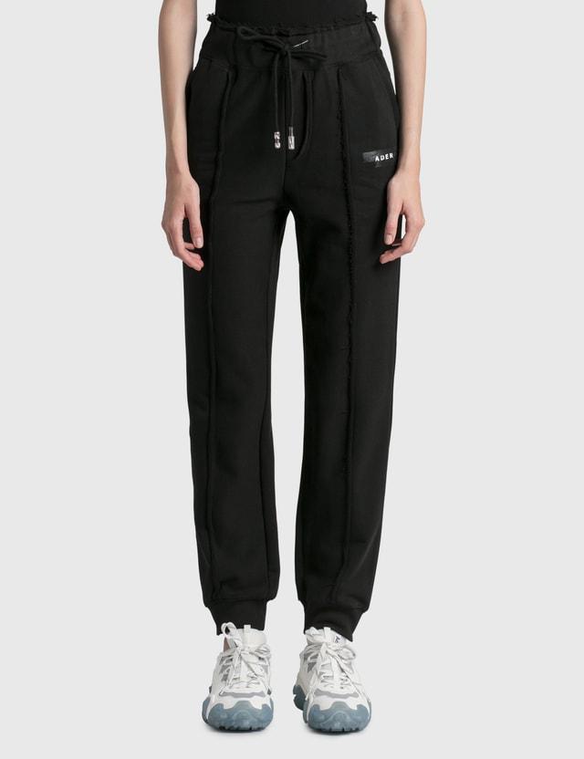 Ader Error Duct Tape Sweatpants Black (black) Women