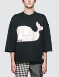 Thom Browne Boxy Cut Off S/S T-Shirt Picture