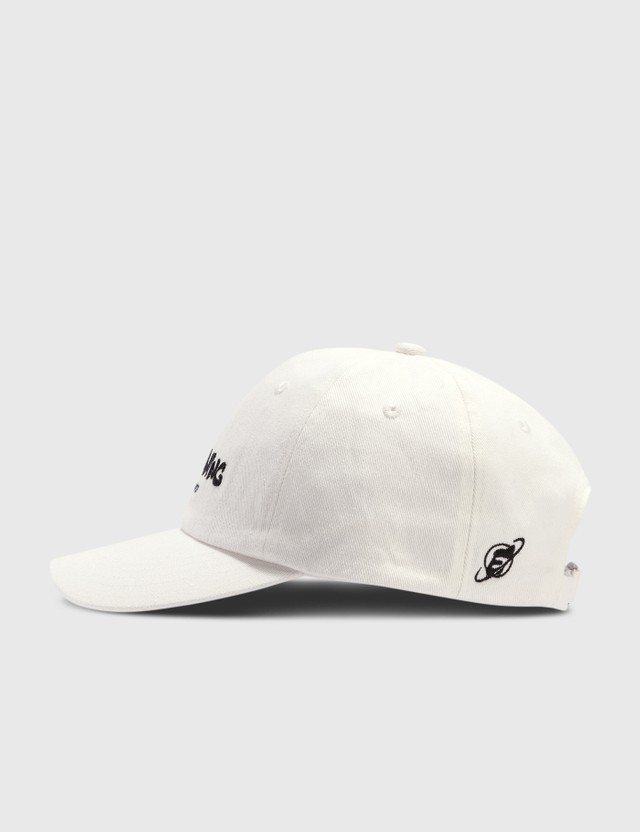 Earthling Collective Logo Washed Cap White Men