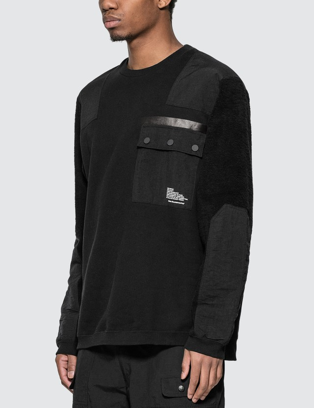 White Mountaineering Patched Sweatshirt