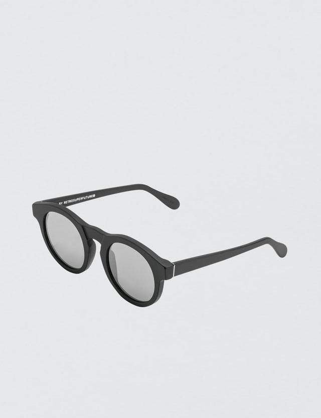 ed6f5514875 Super By Retrosuperfuture - Boy Black Matte Zero Sunglasses