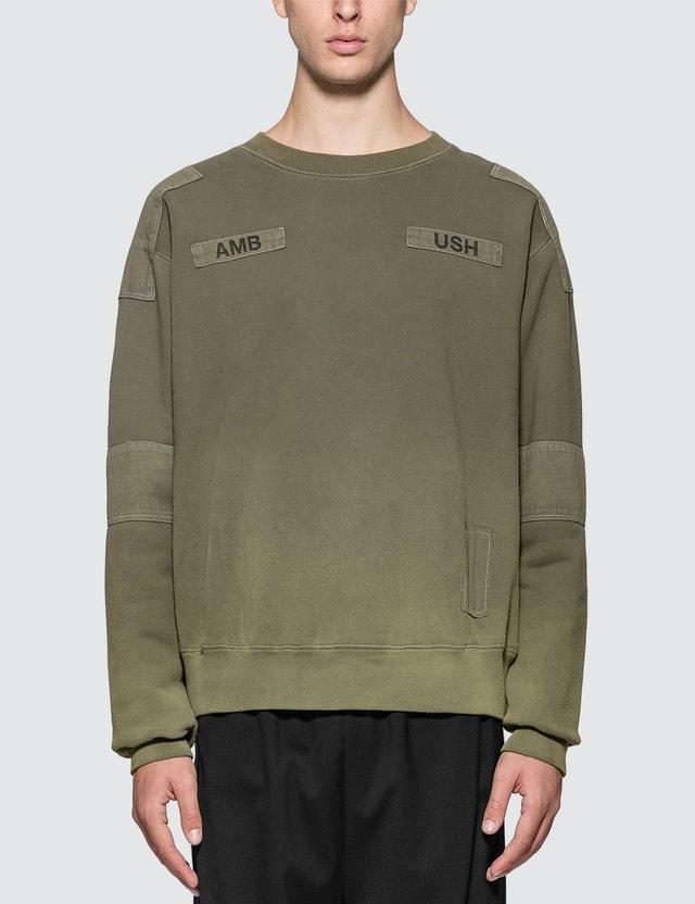 Ambush Bleach Patchwork Sweatshirt