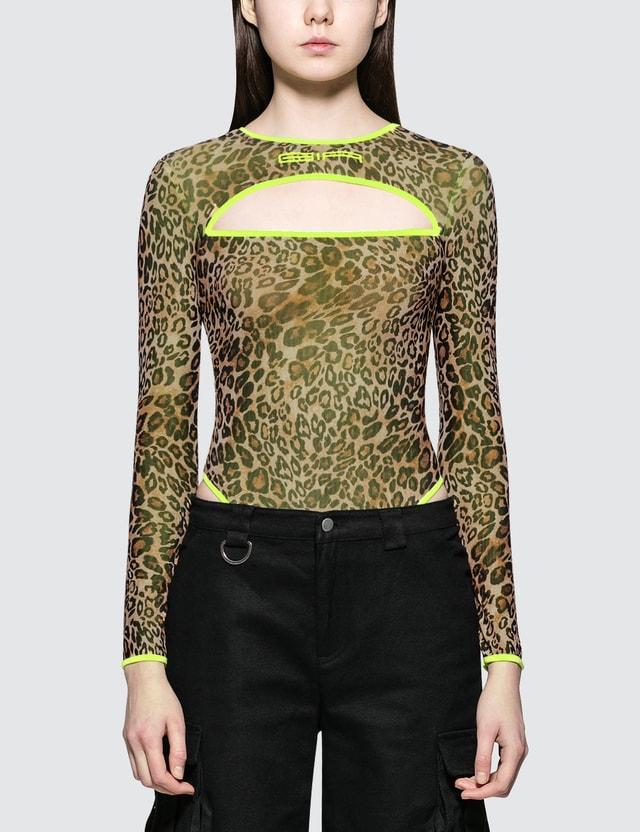 I.AM.GIA Taurus Leopard Bodysuit