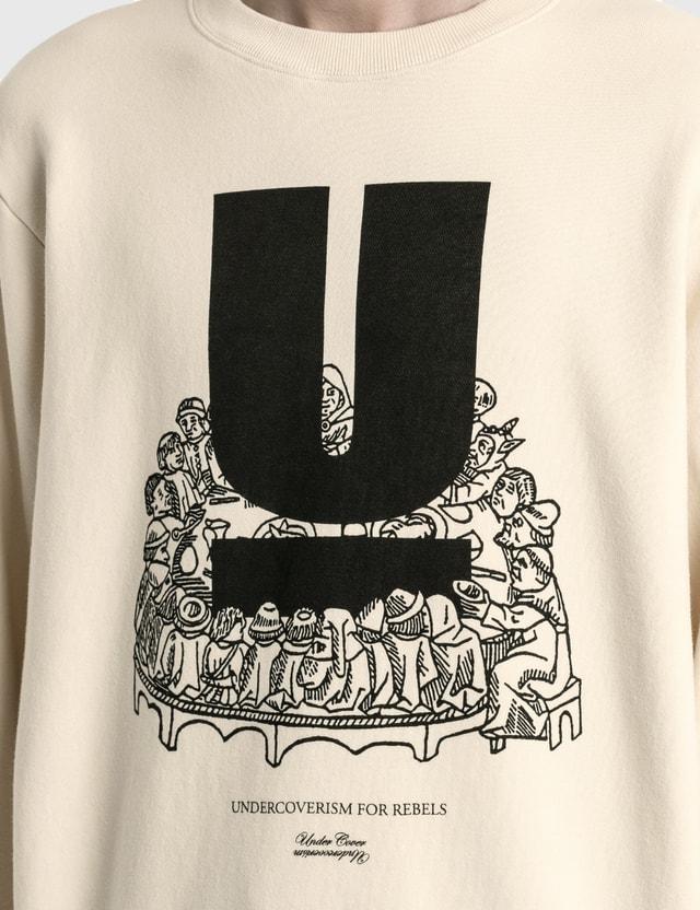 Undercover U Logo Sweatshirt Ivory Men