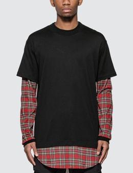 Mastermind World Tartan Check Long Sleeve T-Shirt