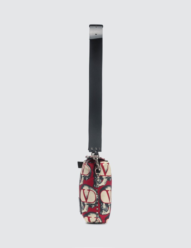 Valentino Valentino x Undercover All Over Skull Crossbody Bag