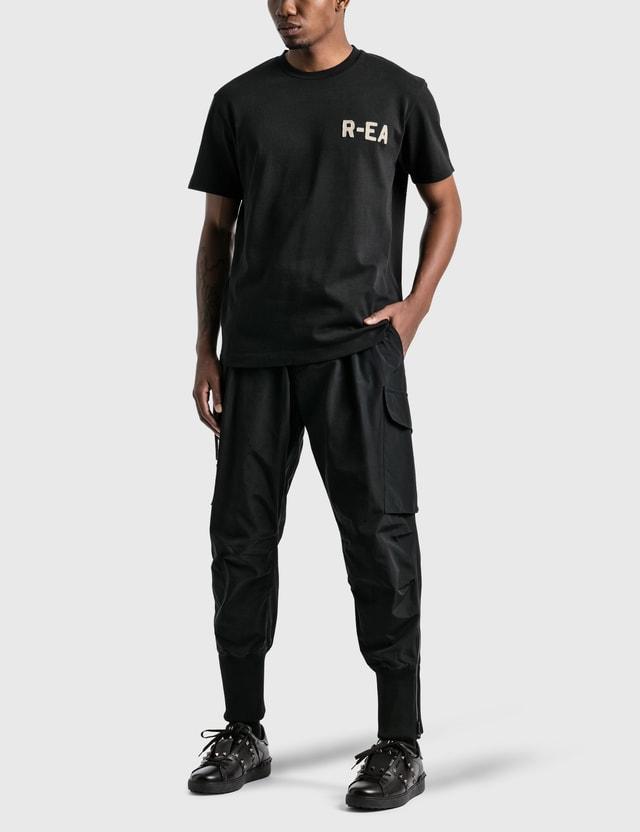Emporio Armani R-EA Show Track Pants Black Men