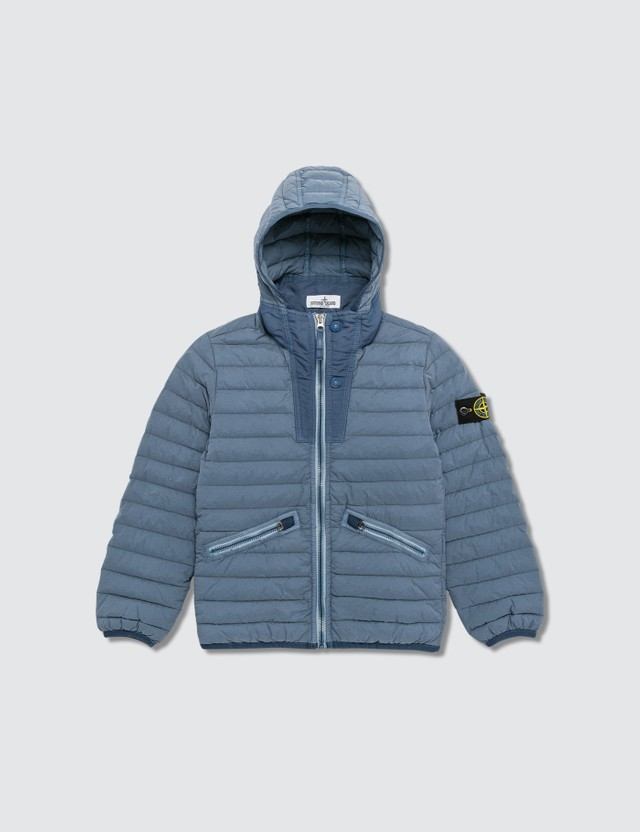 Stone Island Real Down Jacket (Infants) Dark Blue  Kids