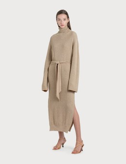Nanushka Canaan Knit Turtleneck Dress