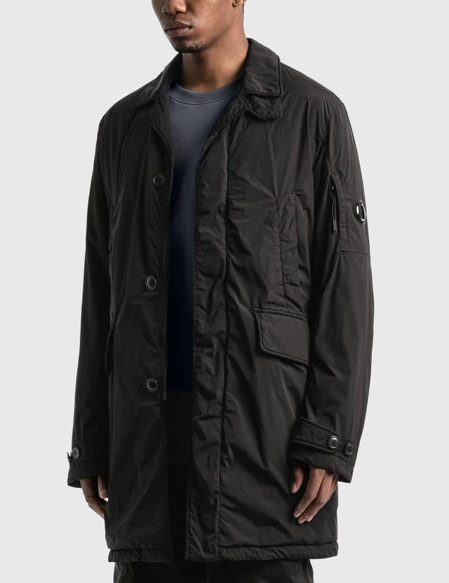 CP Company Nycra R Collared Lens Jacket Black Men