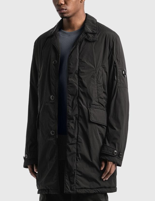 CP Company Nycra R Collared Lens Jacket Black Men