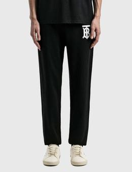 Burberry Monogram Motif Cotton Jogging Pants