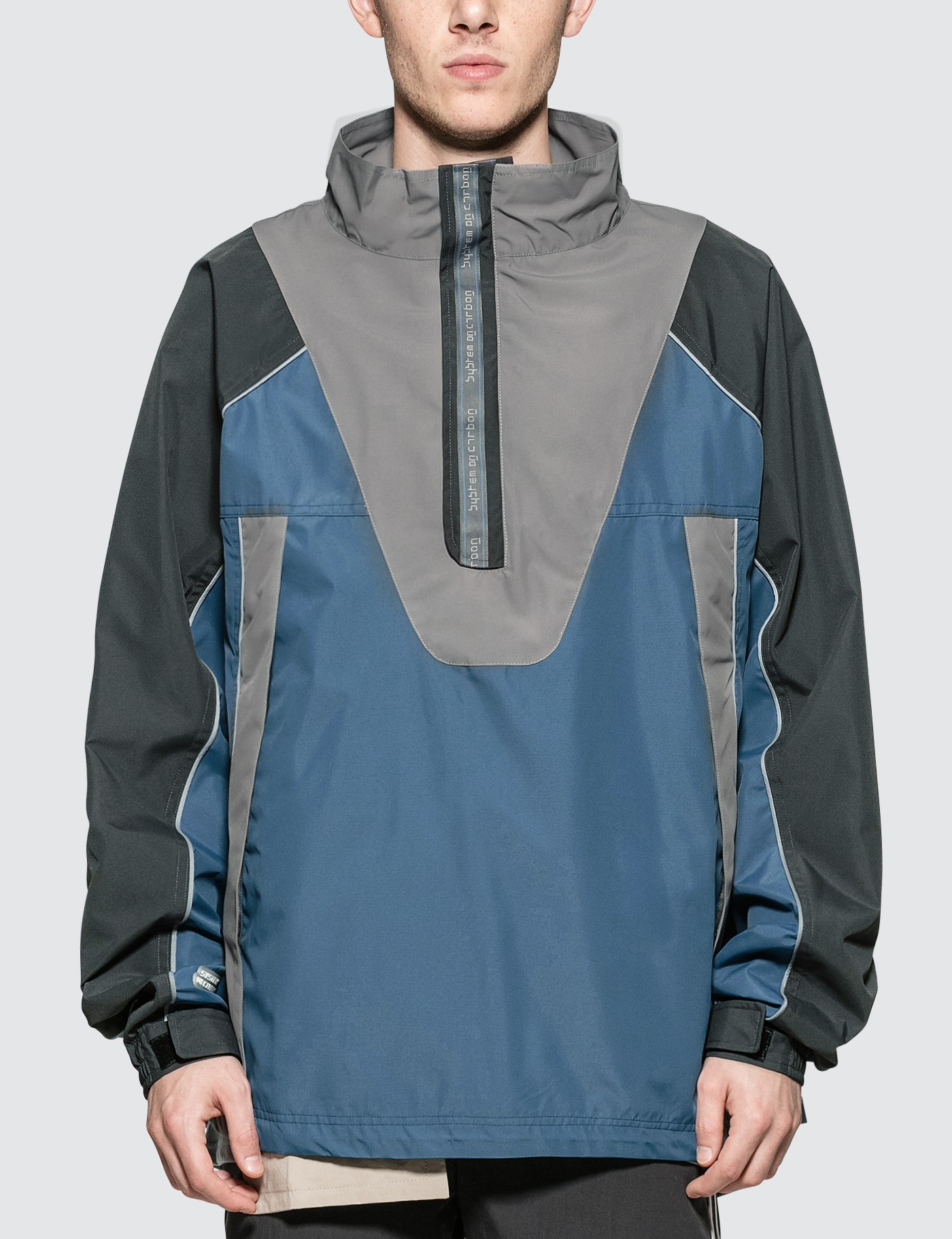 C2H4 Los Angeles Inside Out 3M Seamline Pullover Jacket Picture