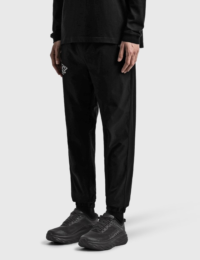 Kinjaz Vanquish X Kinjaz Nylon Track Pants Black Men