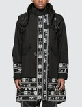 Sacai Floral Stripe Jacquard Coat Picture