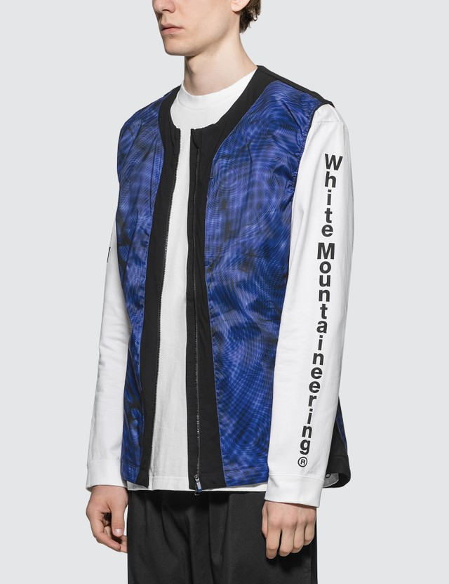 Adidas Originals White Mountaineering x Adidas Terrex WM Vest Collegiate Royal Men