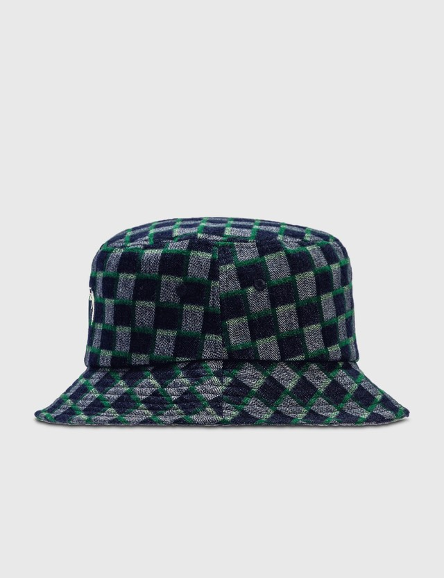Stussy Brent Check Wool Bucket Hat