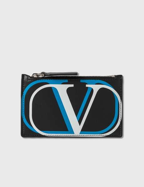 발렌티노 Valentino Garavani Double V Logo Card Holder
