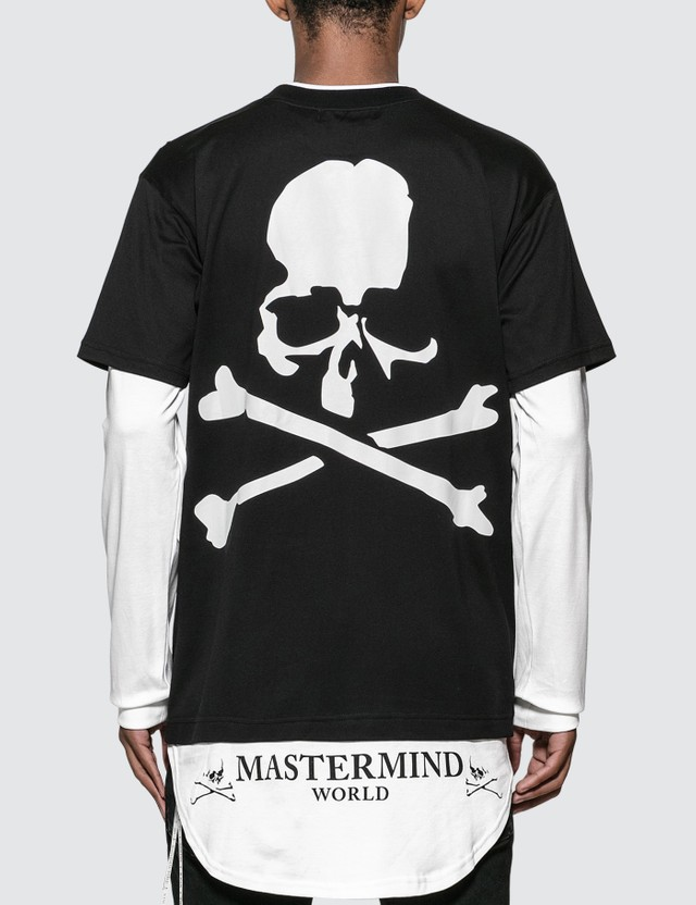 Mastermind World Skull Logo Layering Long Sleeve T-Shirt