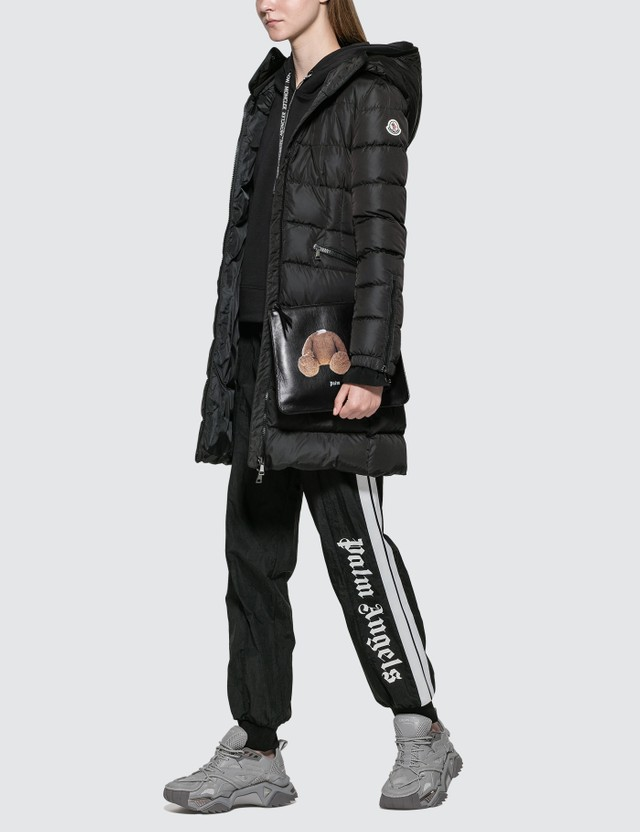 Moncler Midi Down Jacket With Hood