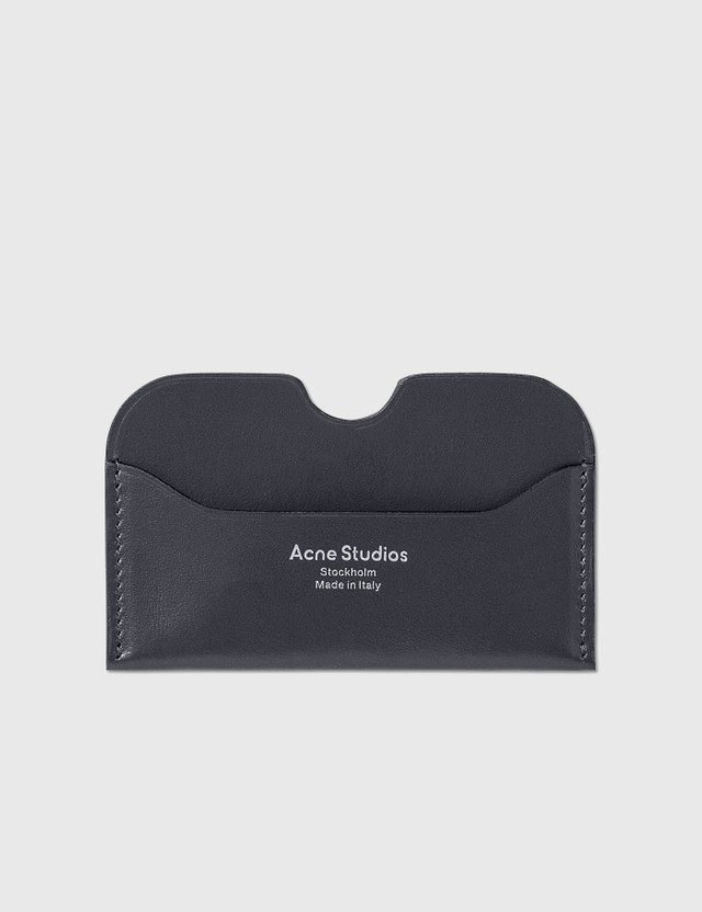 Acne Studios Elmas S Card Holder Dark Blue Women