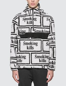 #FR2 Smoking Kills Boa Anorak Jacket
